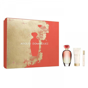 Adolfo Dominguez Única Coral Eau De Toilette Spray 100ml Set 3 Parti 2018