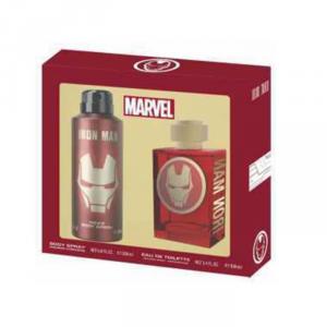 Marvel Iron Man Eau De Toilette Spray 100ml Set 2 Parti 2018