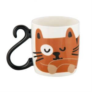 tazza in ceramica con coda