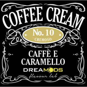 Coffee Cream No.10 Aroma concentrato - Dreamods