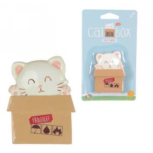 Calamita gatto nella scatola (magn118)