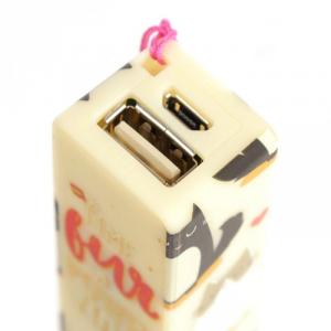 Portachiavi con Power Bank Gatti USB Gatti