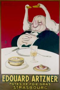 Manifesto pubblicitario di Eduard Artzner nel 1920