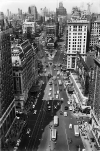 Times Square, New York, 1937