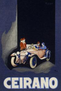 Manifesto pubblicitario di Ceirano nel 1920