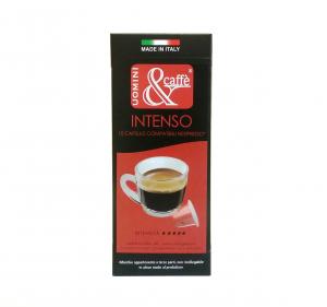CAPSULE CAFFE' COMPATIBILI NESPRESSO INTENSO 50% ARABICA 50% ROBUSTA 10 PZ PER SCATOLA