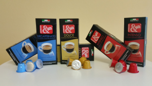 CAPSULE CAFFE' COMPATIBILI NESPRESSO DOLCE 80% ARABICA 20% ROBUSTA 10 PZ PER SCATOLA