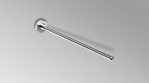 Porta salviette fisso a parete per il bagno serie Basic Colombo design