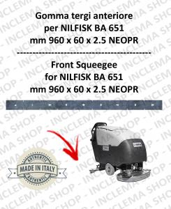 BA 651 Vorne sauglippen für Scheuersaugmaschinen NILFISK