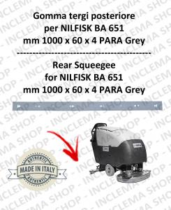 BA 651 Bavette posteiore pour autolaveuses NILFISK