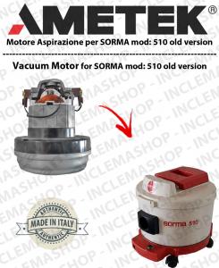 510 (old version) motor de aspiración AMETEK  para aspiradora SORMA