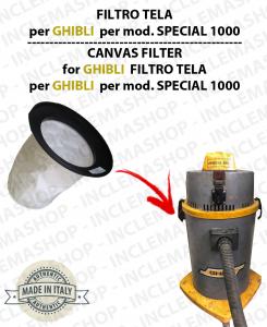 SPECIAL 1000 FILTRE TOILE pour aspirateur GHIBLI