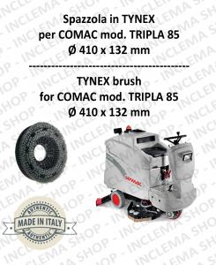 TRIPLA 85 Bürsten in TYNEX für Scheuersaugmaschinen COMAC