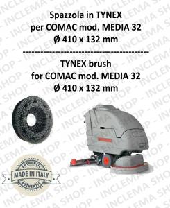 MEDIA 32 BROSSE in TYNEX pour autolaveuses COMAC