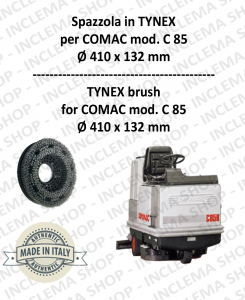 C 85 Bürsten in TYNEX für Scheuersaugmaschinen COMAC