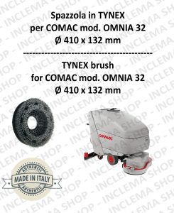 OMNIA 32 spazzola in TYNEX for Scrubber Dryer COMAC