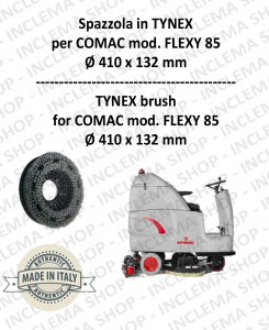 FLEXY 85 spazzola in TYNEX for Scrubber Dryer COMAC