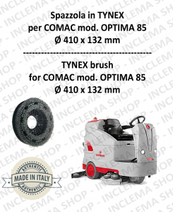 OPTIMA 85 spazzola in TYNEX for Scrubber Dryer COMAC
