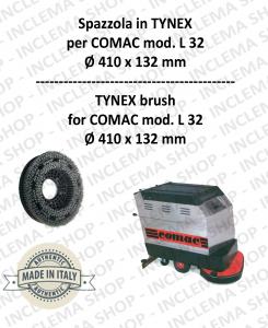 L 32 Bürsten in TYNEX für Scheuersaugmaschinen COMAC
