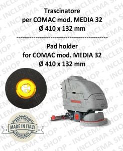 MEDIA 32 Plateau (Pad Holder) pour autolaveuses COMAC