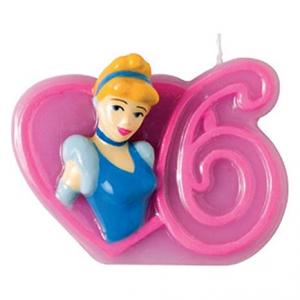 Candela Cera Disney Princess Cenerentola