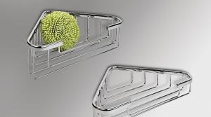 Contenitore angolare per il bagno serie Basic Colombo design