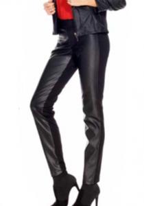 Pantalone ecopelle nero Tessilgroup