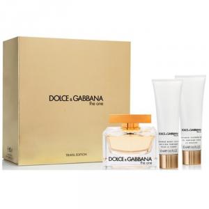 Dolce & Gabbana The One Eau De Parfum Spray 75ml Set 3 Parti 2018