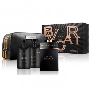 Bvlgari Man In Black Eau De Toilette Spray 100ml Set 4 Parti 2018