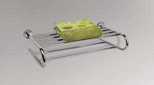 Porta salviette per il bagno serie Basic Colombo design