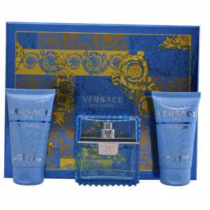 Versace Eau Fraîche Eau De Toilette Spray 50ml Set 3 Parti 2018