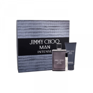 Jimmy Choo Man Intense Eau De Toilette Spray 100ml Set 3 Parti 2018