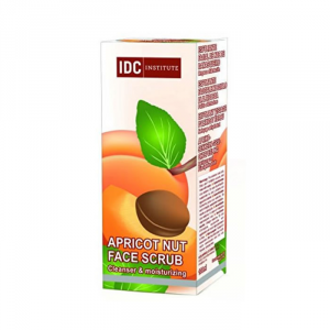 IDC Institute Apricot Nut Face Soft Scrub Cleanser And Moisturizing 100ml