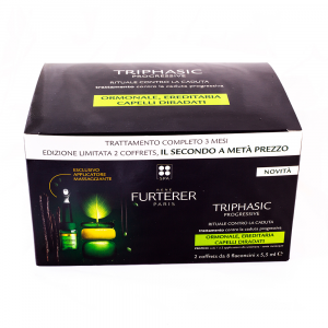 Renè Furterer Triphasic lozione anti caduta severa confezione 3 mesi di trattamento