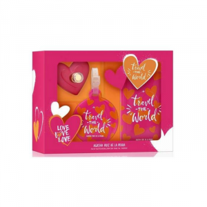 Agatha Ruiz De La Prada Love Love Love Eau De Toilette Spray 50ml Set 3 Parti 2018