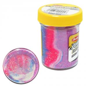 BERKLEY Pasta Powerbait Glitter Trout Bait blu rosa