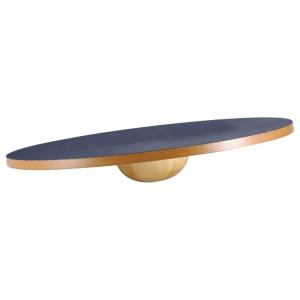 GET FIT Tavoletta propriocettiva Wooden Balance Board