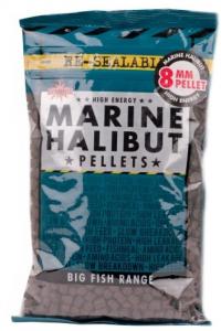 DYNAMITE BAITS Pellet Marine Halibut 6 mm marrone