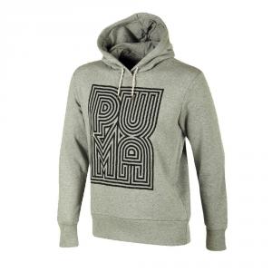 PUMA Felpa uomo Logo Hoody Felpe Abbigliamento Casual 565402-003