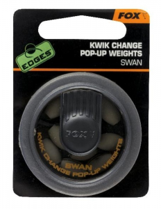 FOX Piombi Kwik Change Pop Up Weights Swan verde - Minuteria pesca