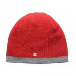CHAMPION Cappellino reversibile rosso grigio