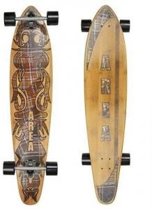 FUN 4 U Skateboard Longboard Bamboo Vario Attrezzatura Snowboard F4AR3202-13