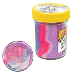 BERKLEY Pasta Powerbait Glitter Trout Bait Esche paste e pastelle Pesca 10049-51