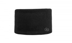 BREKKA Fascia Fleece Headband Uni nero - Fascia sci