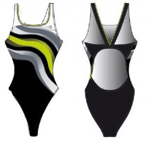 AQUARAPID Costume intero Aloha Costumi Abbigliamento Nuoto ALOHA-C