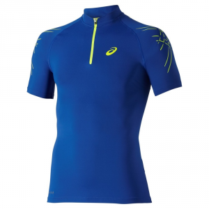 ASICS T-shirt running uomo Motion Muscle 1/2 Zip T.shirt m/m Running 114435-8107