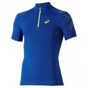 ASICS T-shirt running uomo Motion Muscle 1/2 Zip T.shirt m/m Running 114435-8107