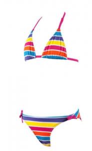 ARENA Costume bambina Stripes Jr Triangle Costumi Abbigliamento Mare 1B080-19