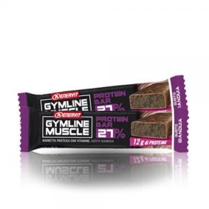 ENERVIT Barretta Gymline Muscle Protein Bar 27% Gianduia Fitness 92684 GIANDUIA