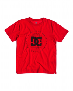 DC SHOES T-Shirt Rebuilt Bambino T.shirt m/m Bambino EDBZT03047-RQRO